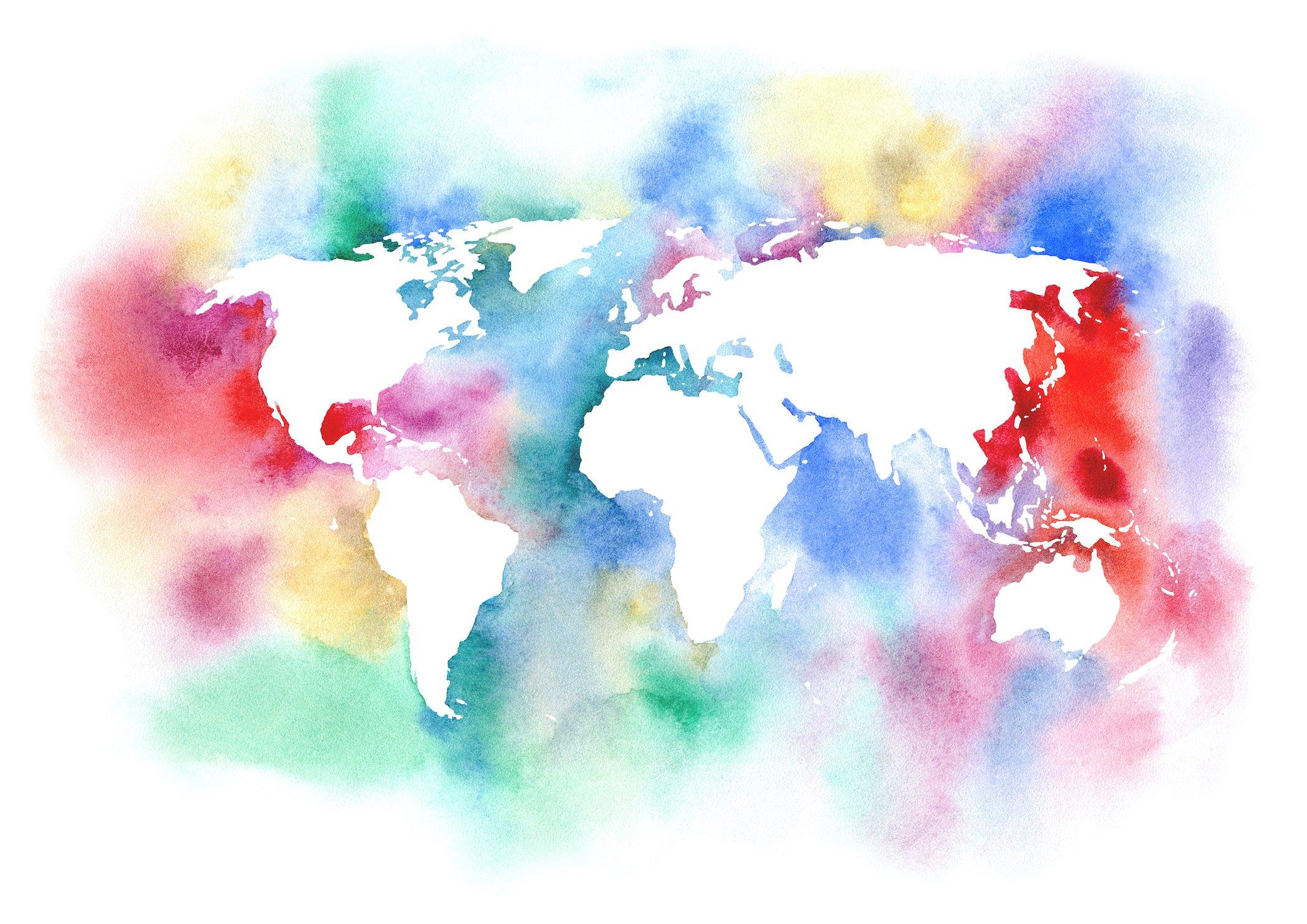 World Map CRBE