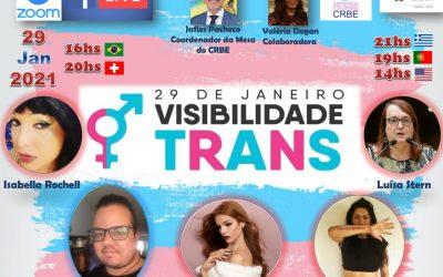 Dia Nacional da Visibilidade Trans – 29 de Janeiro