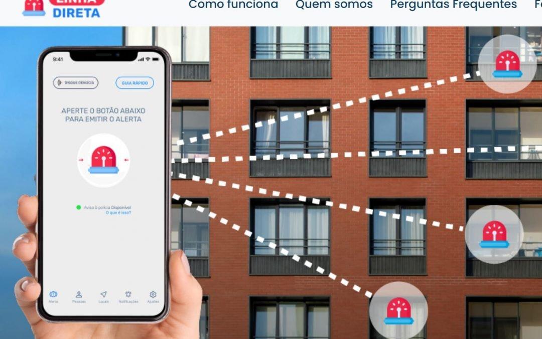 Aplicativo Linha Direta – Um aplicativo pro celular pro momento do pânico